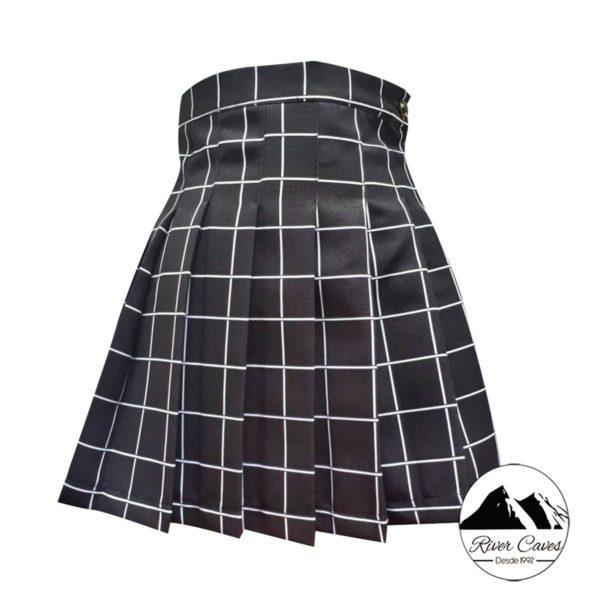 falda en plisada