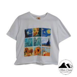 camiseta van gogh